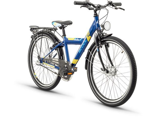s'cool XYlite 24 3-S Børnecykel steel blå (2019) | City-cykler